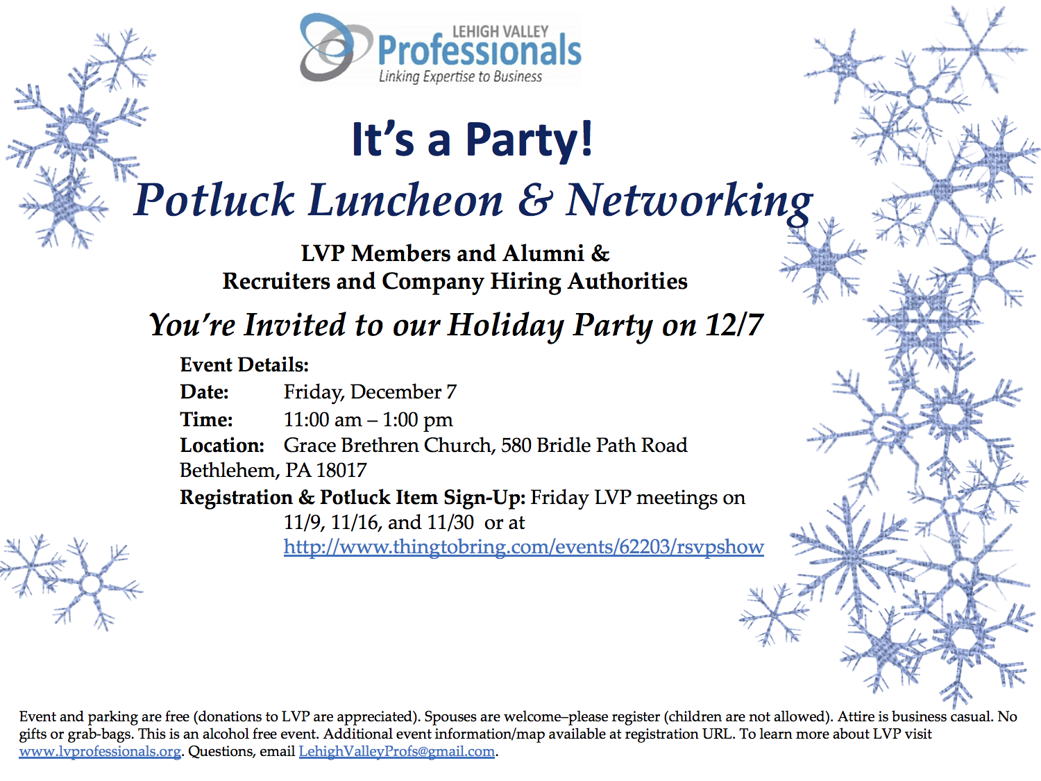Holiday Party on 12-7-18