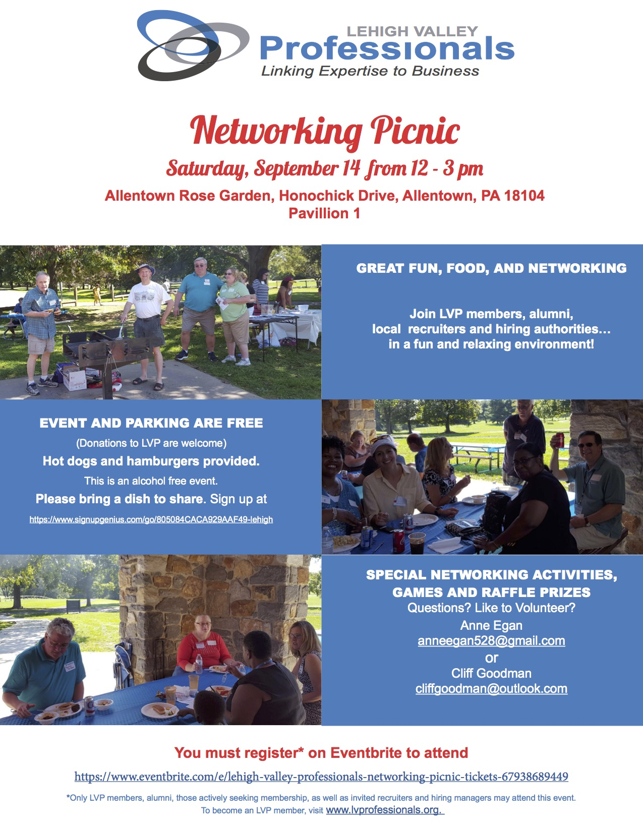 Networking Picnic 9-14-19